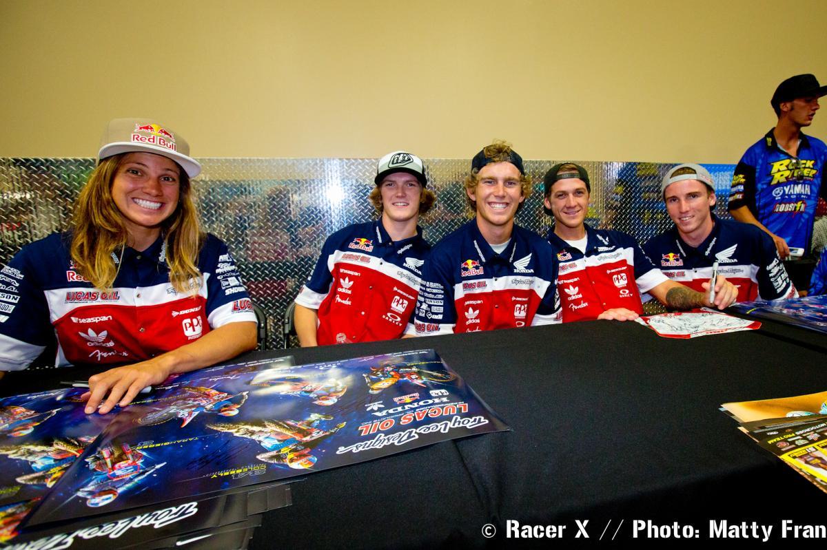 Temecula Motorsports autograph signing