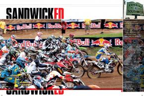 Moto-X 338 is one of the roughest, most unpredictable, and most beloved tracks in the sport. At the 2012 Southwick National, it once again proved its worth. Page 114.