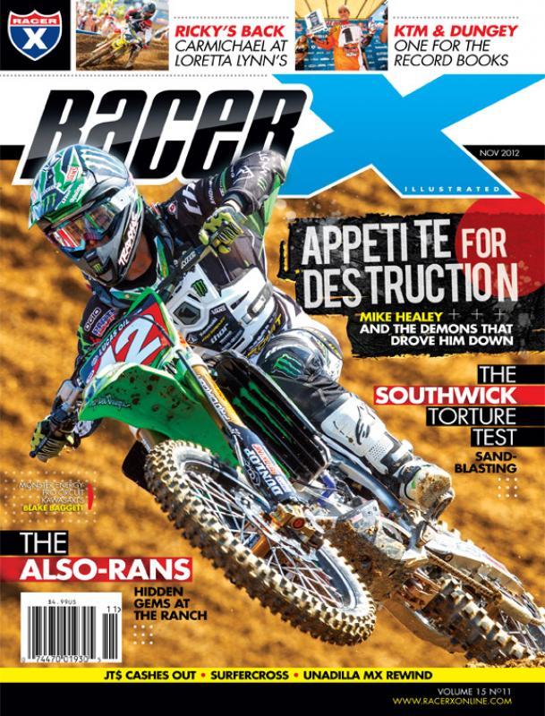 The November 2012 Issue - Racer X Illustrated Motocross Magazine