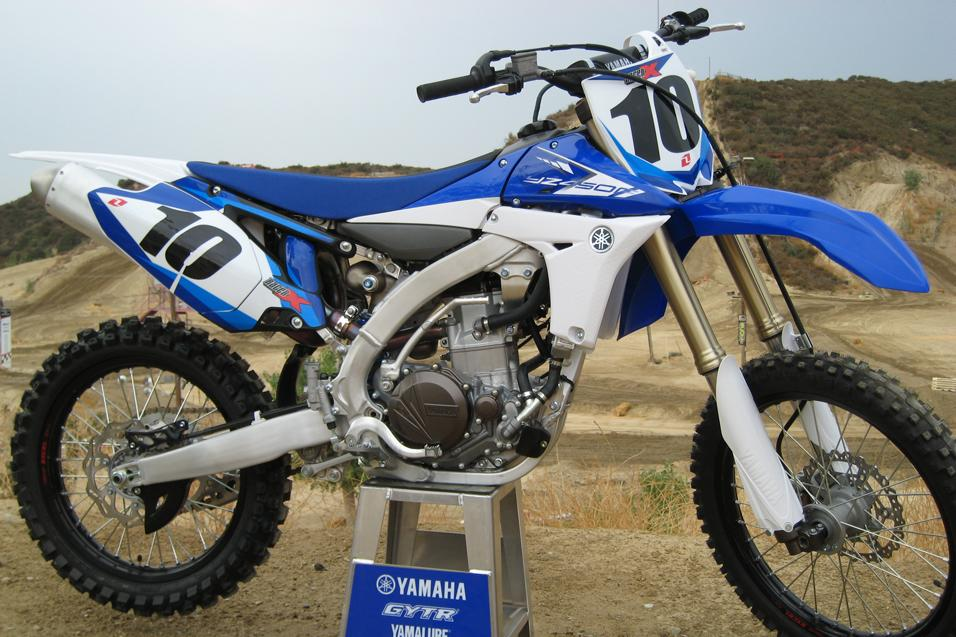 Racer X Tested:<br /> 2013 Yamaha YZ450F