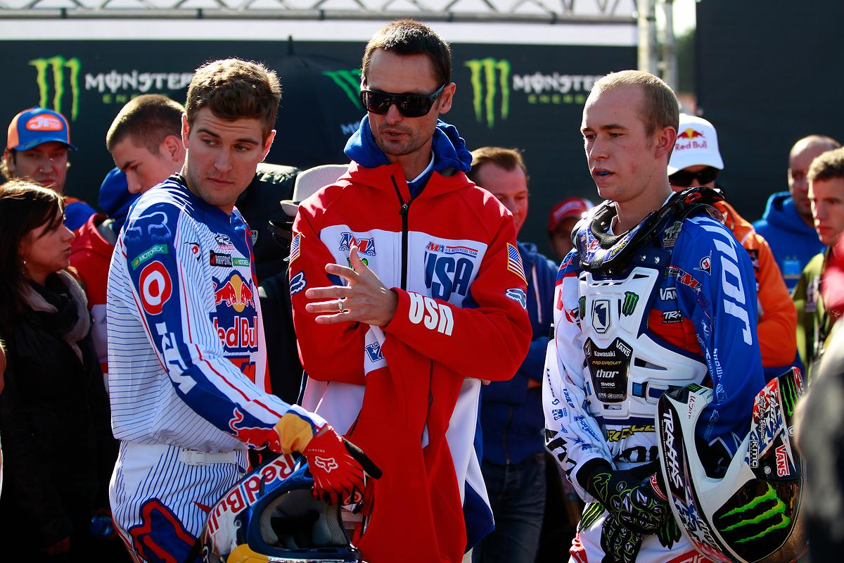 Ryan Dungey and Blake Baggett - USA