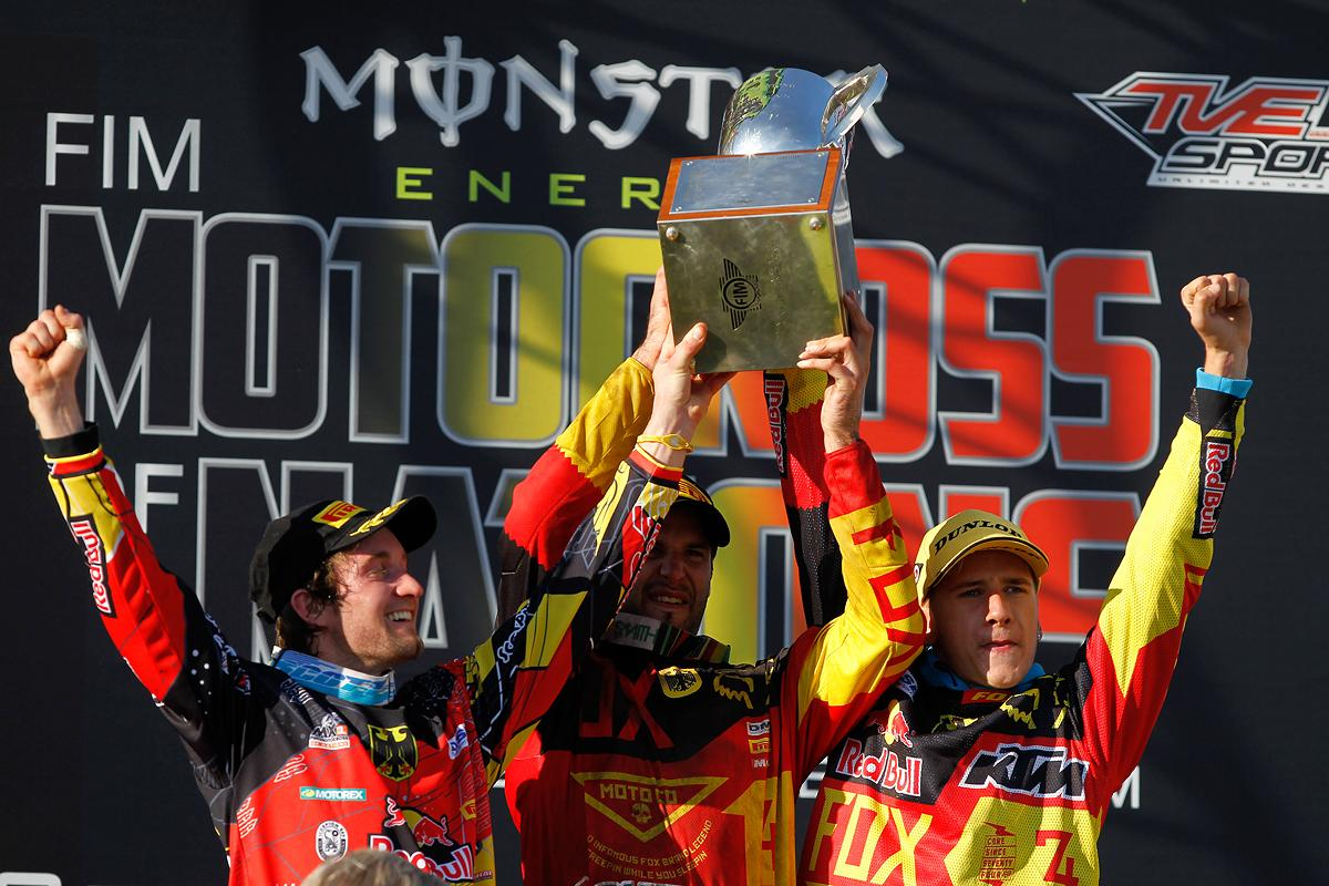 Germany won their first MXoN title in Lommel