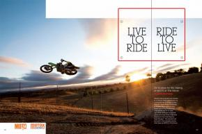 On the road and behind the scenes with filmmaker Taylor Congdon and the rest of the crew behind MOTO 4: The Movie. Page 160.