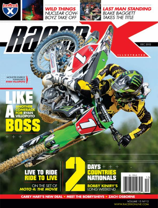 The December 2012 Issue - Racer X Illustrated Motocross Magazine