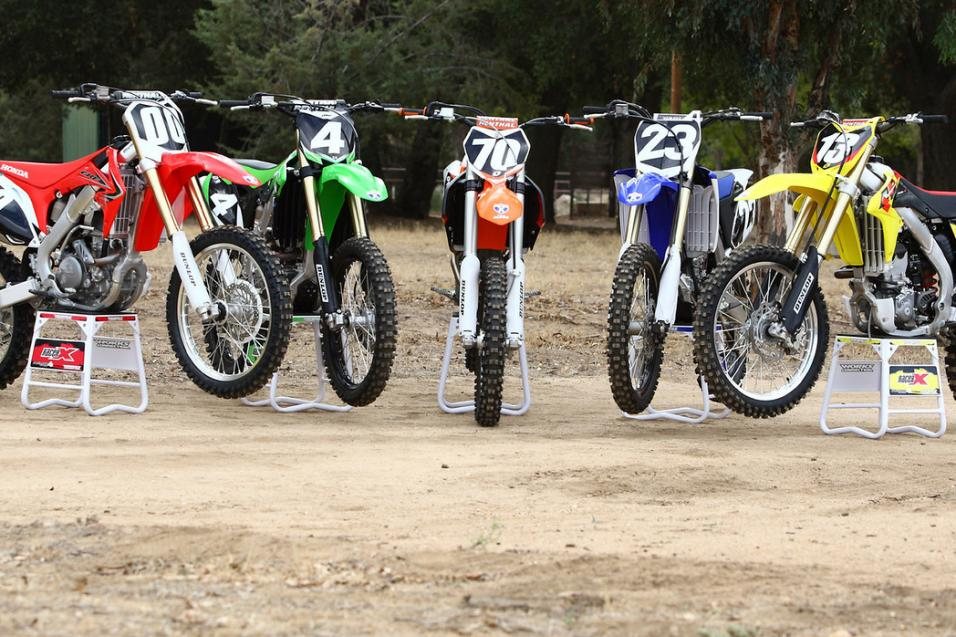 Racer X Tested:  2013 250 Shootout