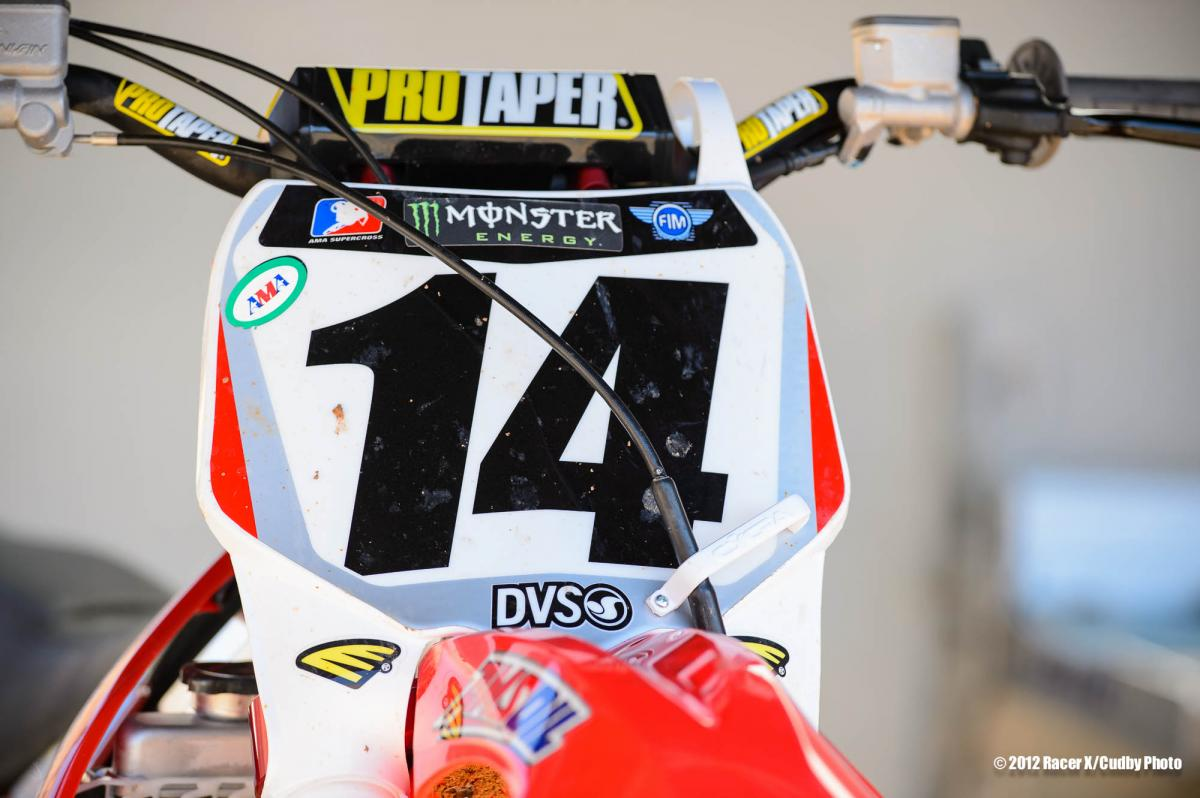 Kevin Windham's Geico Honda 450