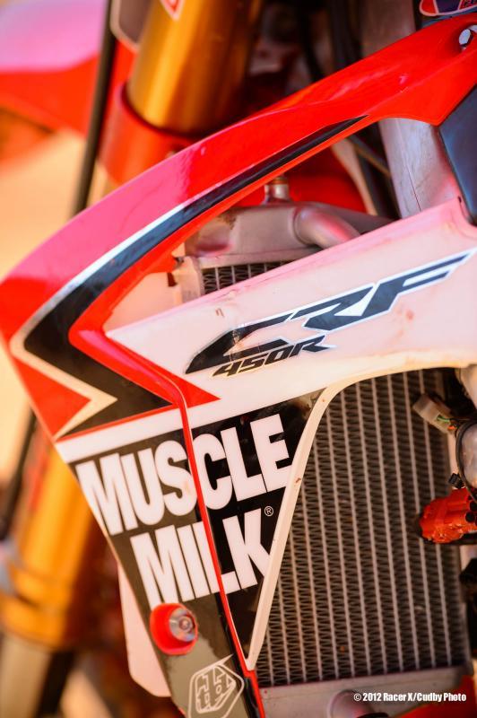 Barcia's Muscle Milk Honda