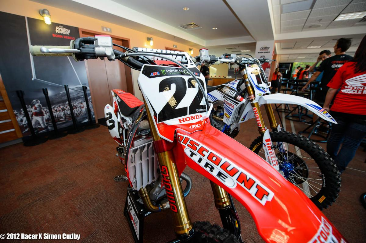 Chad Reed's TwoTwo Honda