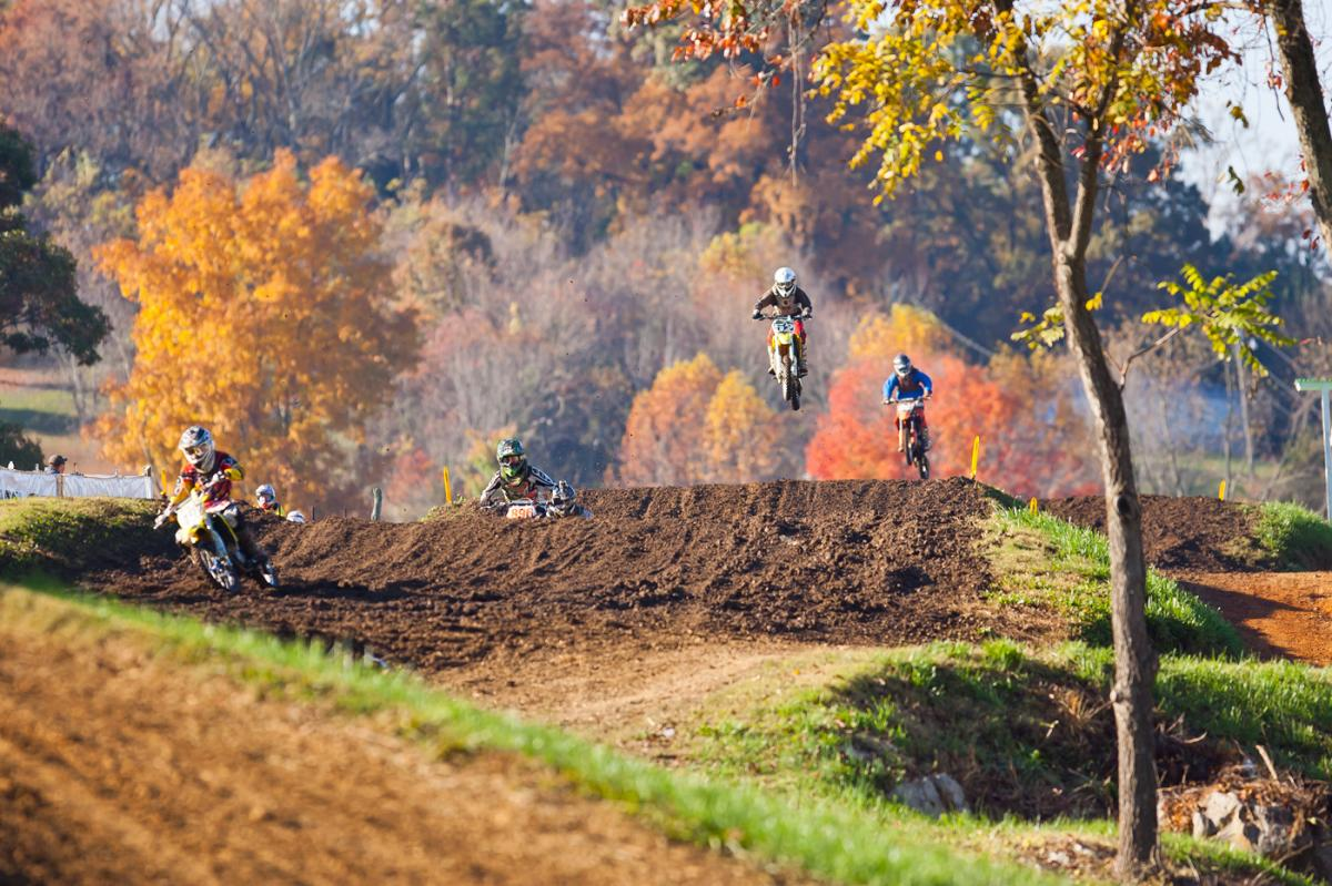 Racing at Muddy Creek.