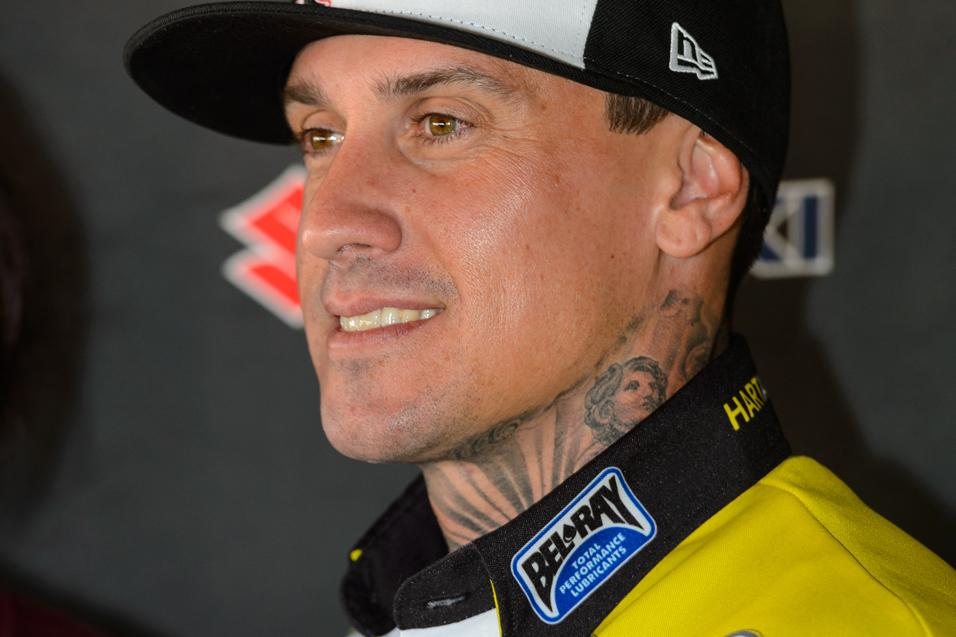 Between the  Motos: Carey Hart