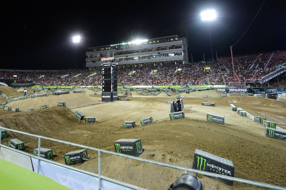 the vault  sam boyd stadium - supercross