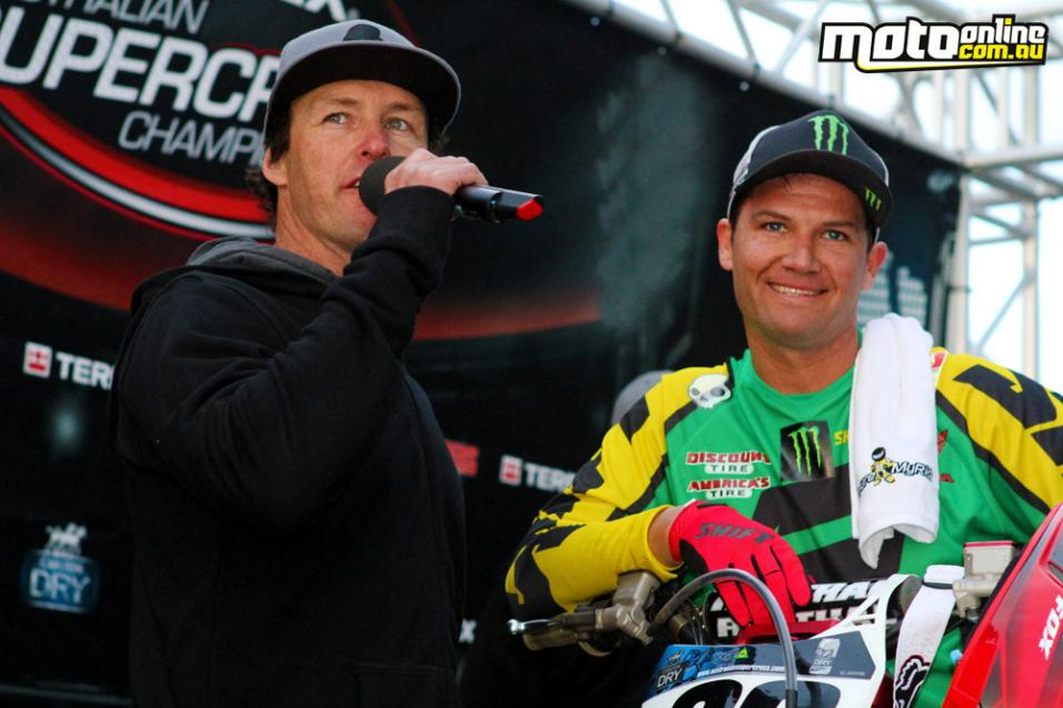 <strong>Open Mic:</strong> Chad Reed