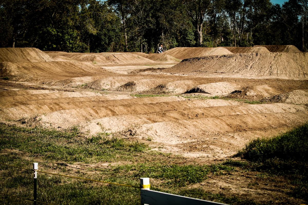 The SX track at Three Palms MX was prepped and ready for the tryouts