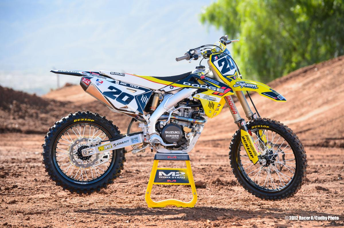 Broc Tickle's RCH 450