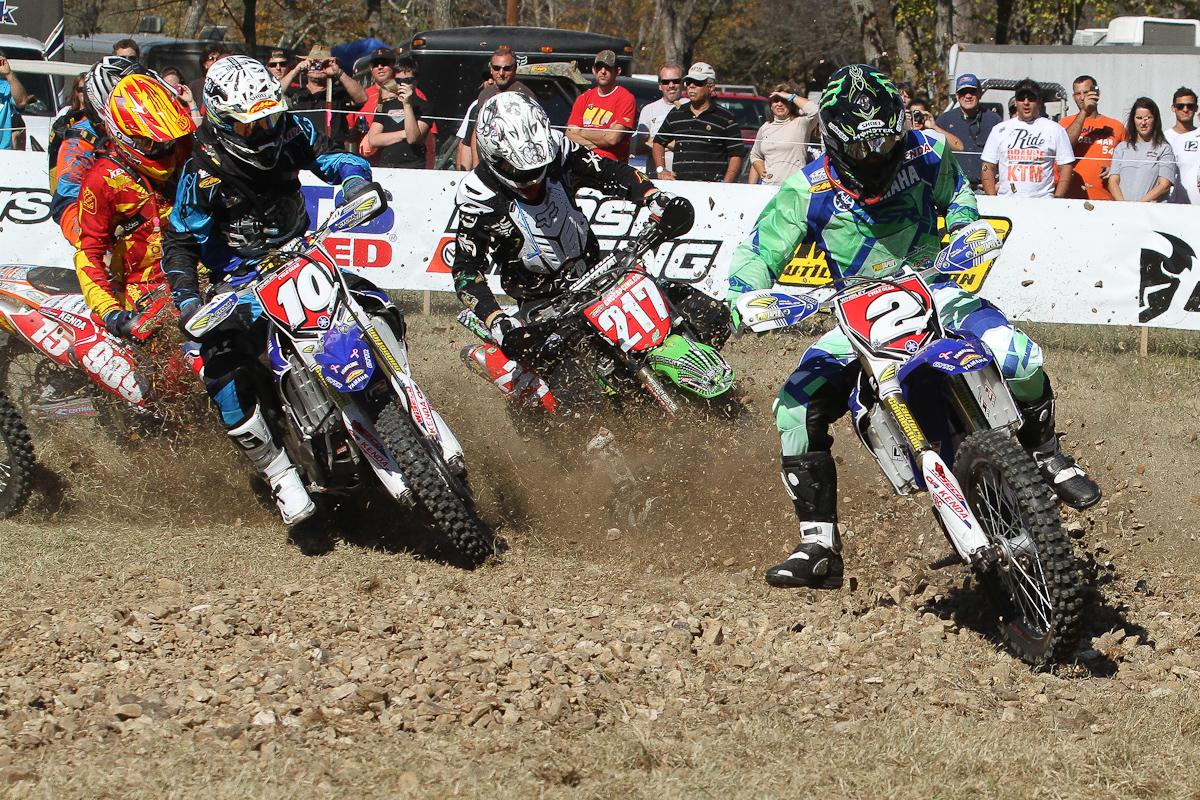 Paul Whibley grabs the Motosport.com Holeshot.