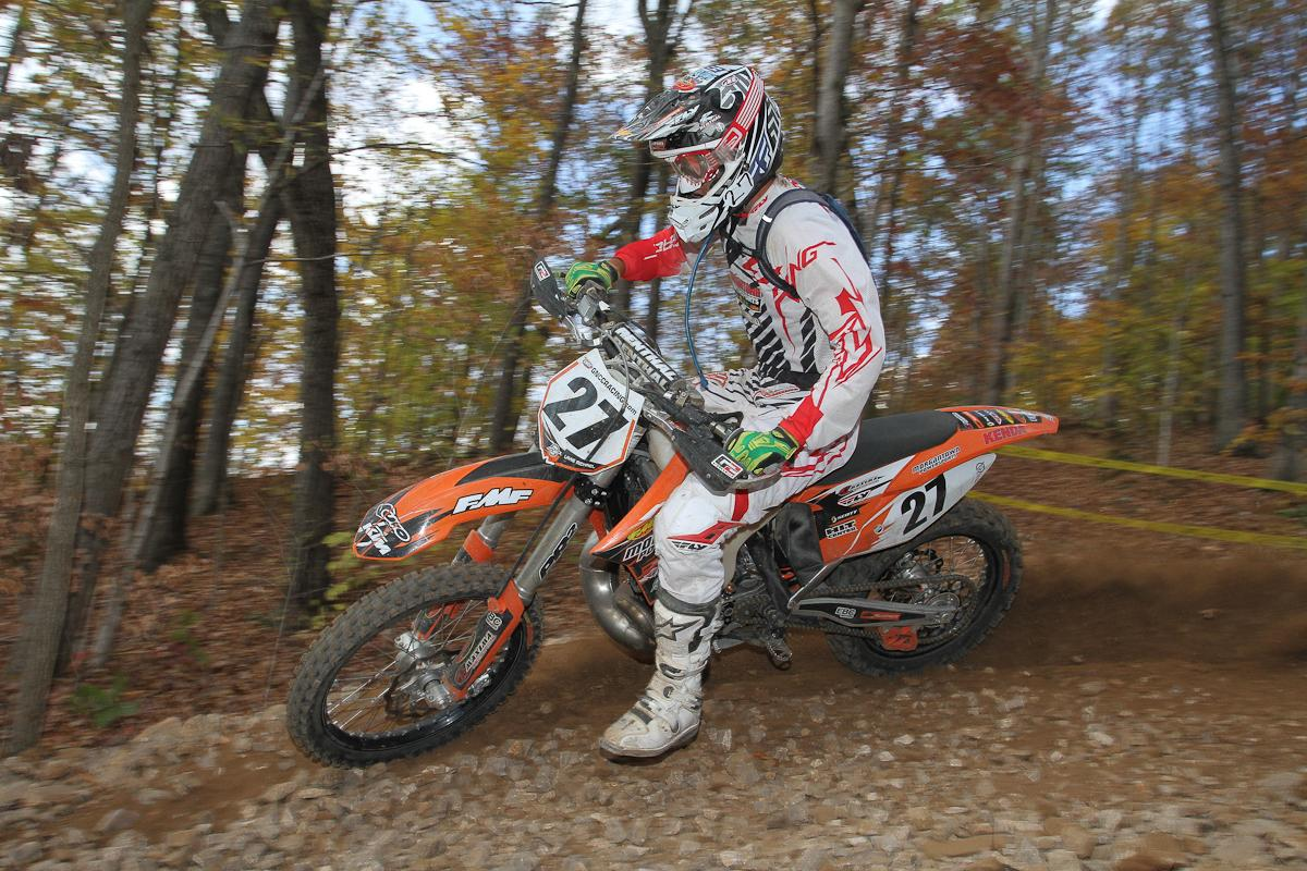 Ninth overall, 250 A winner Layne Michael was the top amateur.