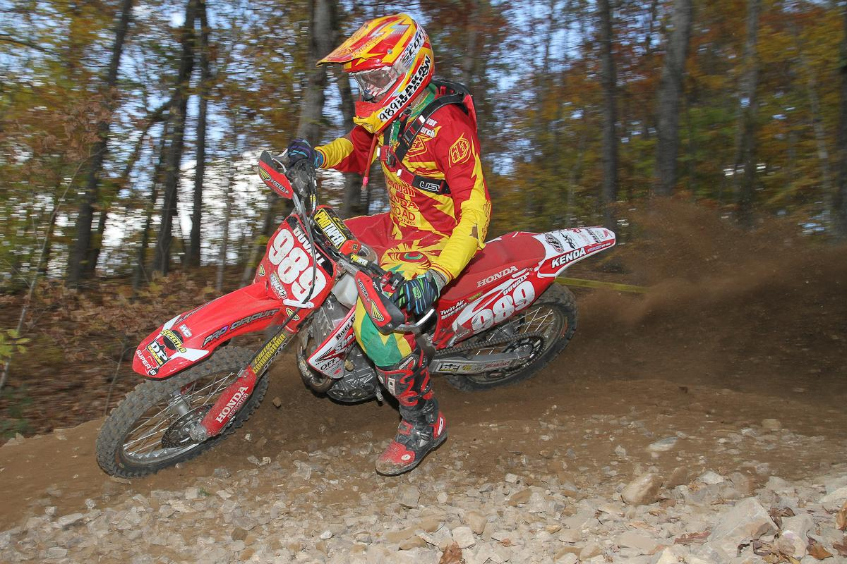 Thad DuVall was fourth at Loretta's and fourth for the season.