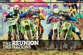 Held annually at Great Britain's famed Farleigh Castle circuit, the Vets MXDN brings out the finest classic machines—and the men who ride them— for a celebration of moto history. Page 112.