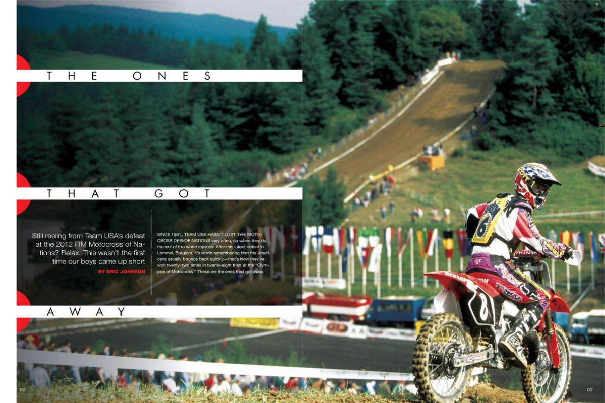 Team USA may not have enjoyed their best day at this year's Motocross of Nations, but fret not—we've been here before. Good thing is, we have a habit of bouncing back. Page 132.
