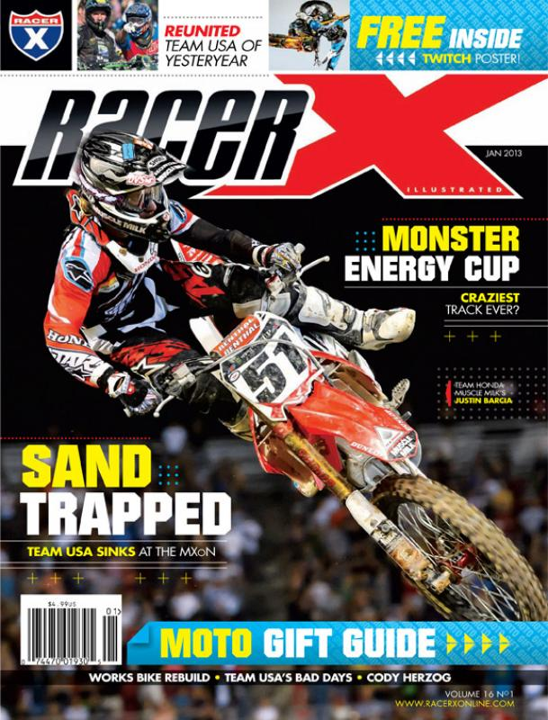 The January 2013 Issue - Racer X Illustrated Supercross Magazine