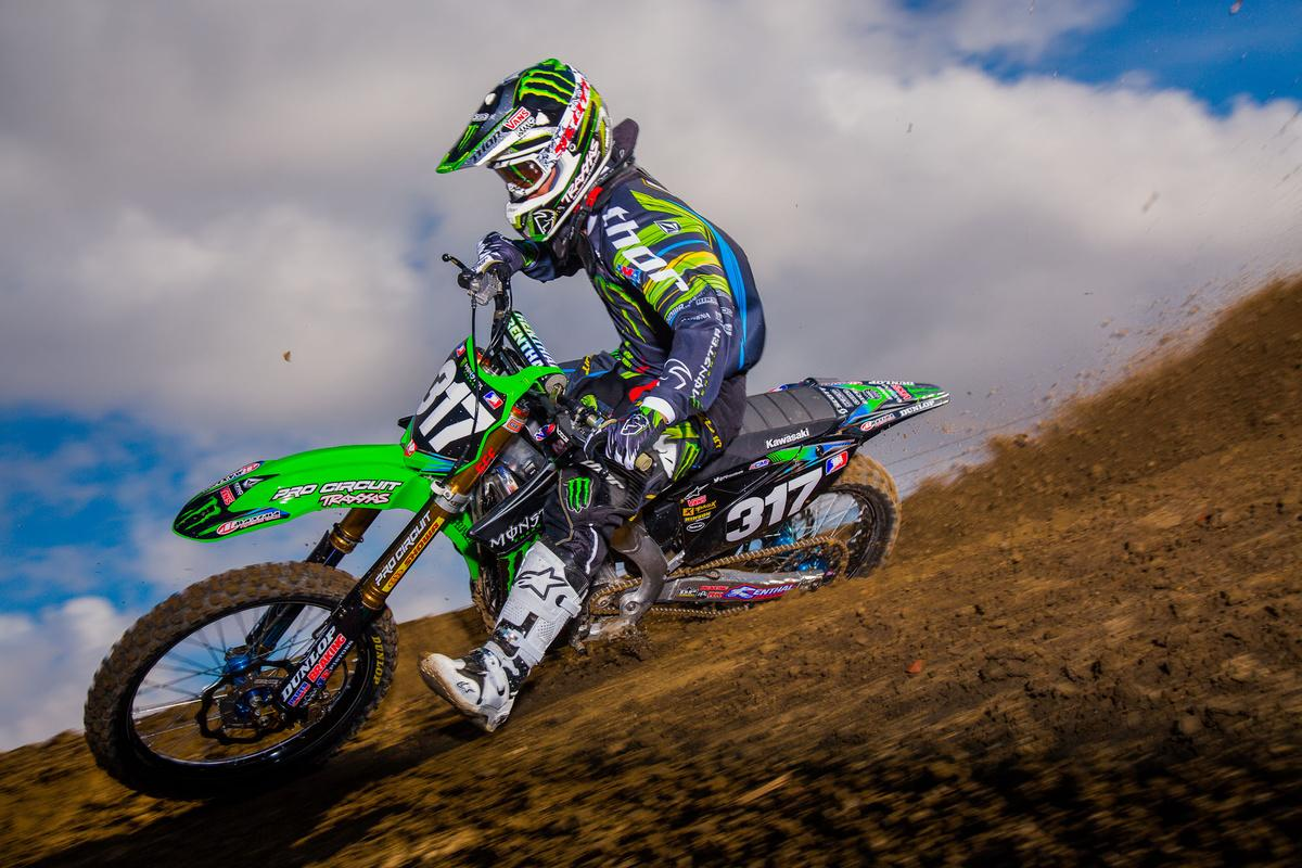 Justin Hill / Monster Energy Pro Circuit Kawasaki photo