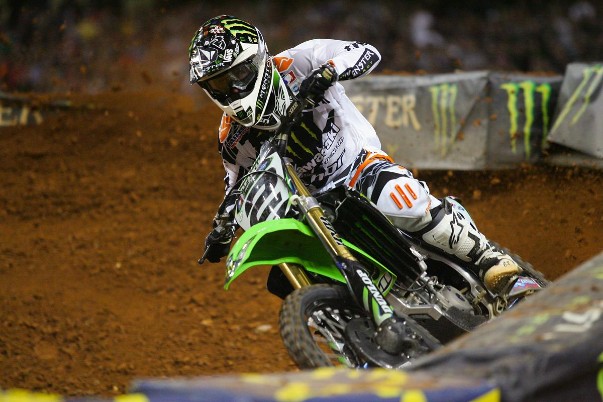 Villopoto's win in Atlanta would mark his third of the season, and soon he'd start to build momentum and a points lead. (Afred photo)