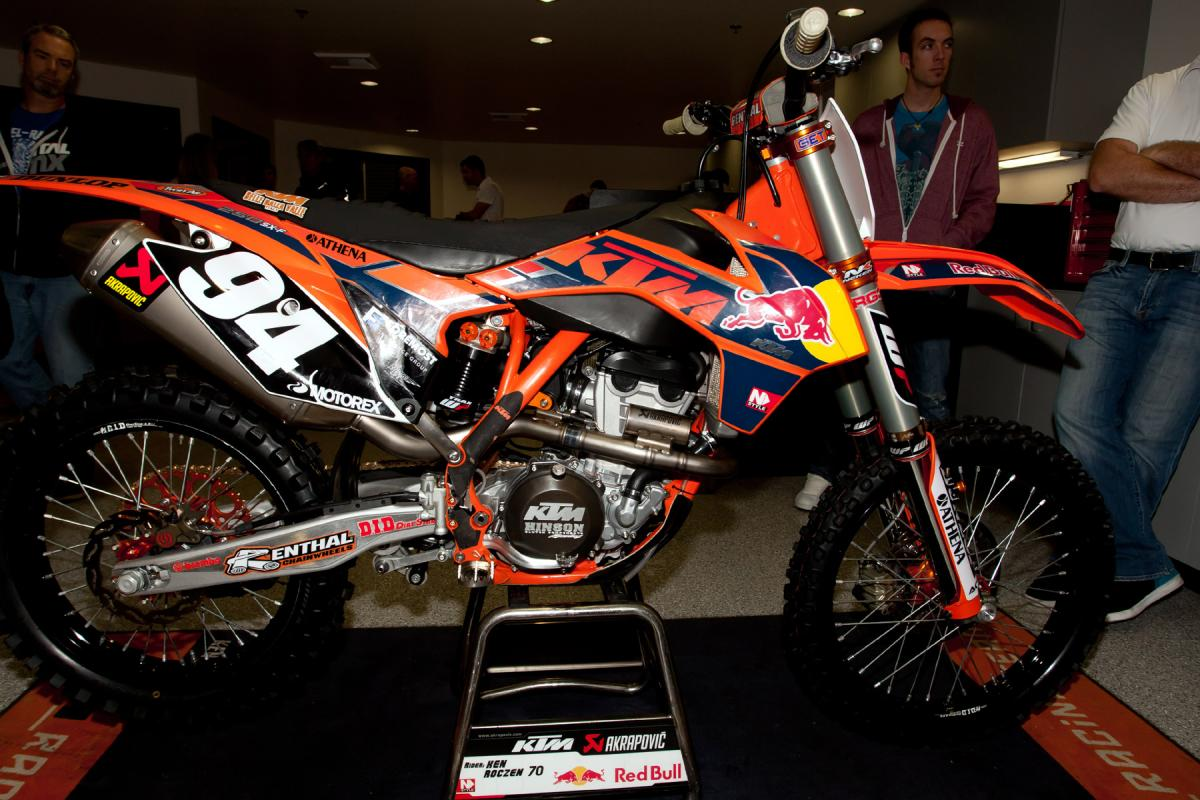 This is Ken Roczen's.