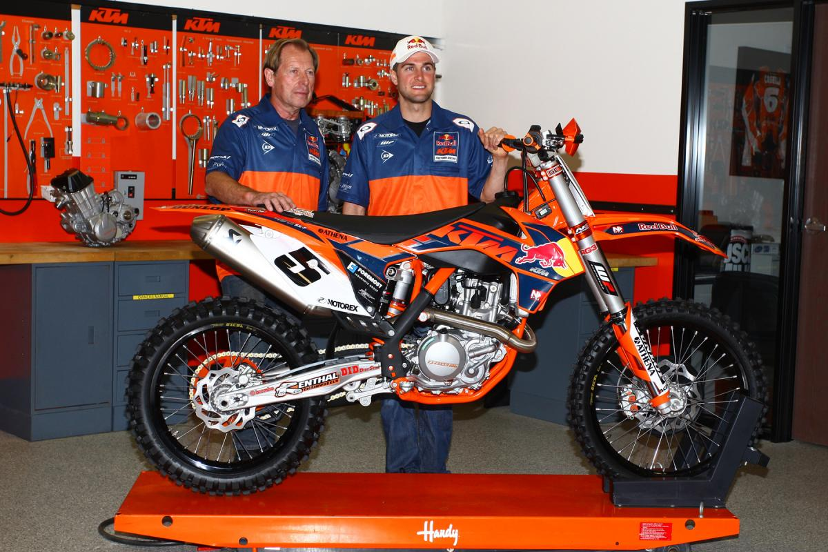 RD squared has pretty much 180ed KTM's U.S. moto fortunes.