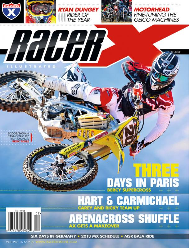 The February 2013 Issue - Racer X Illustrated Supercross Magazine