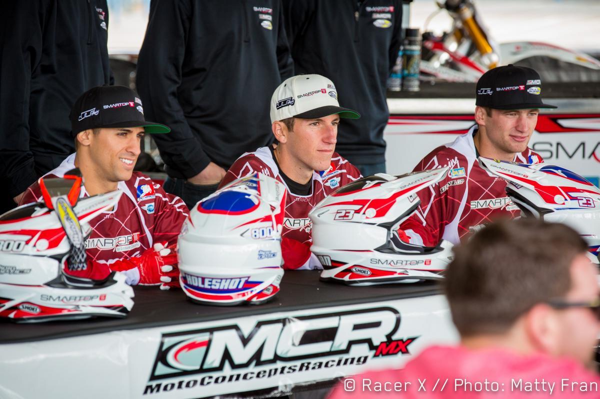 Mike Alessi, Jake Canada, and Gavin Faith