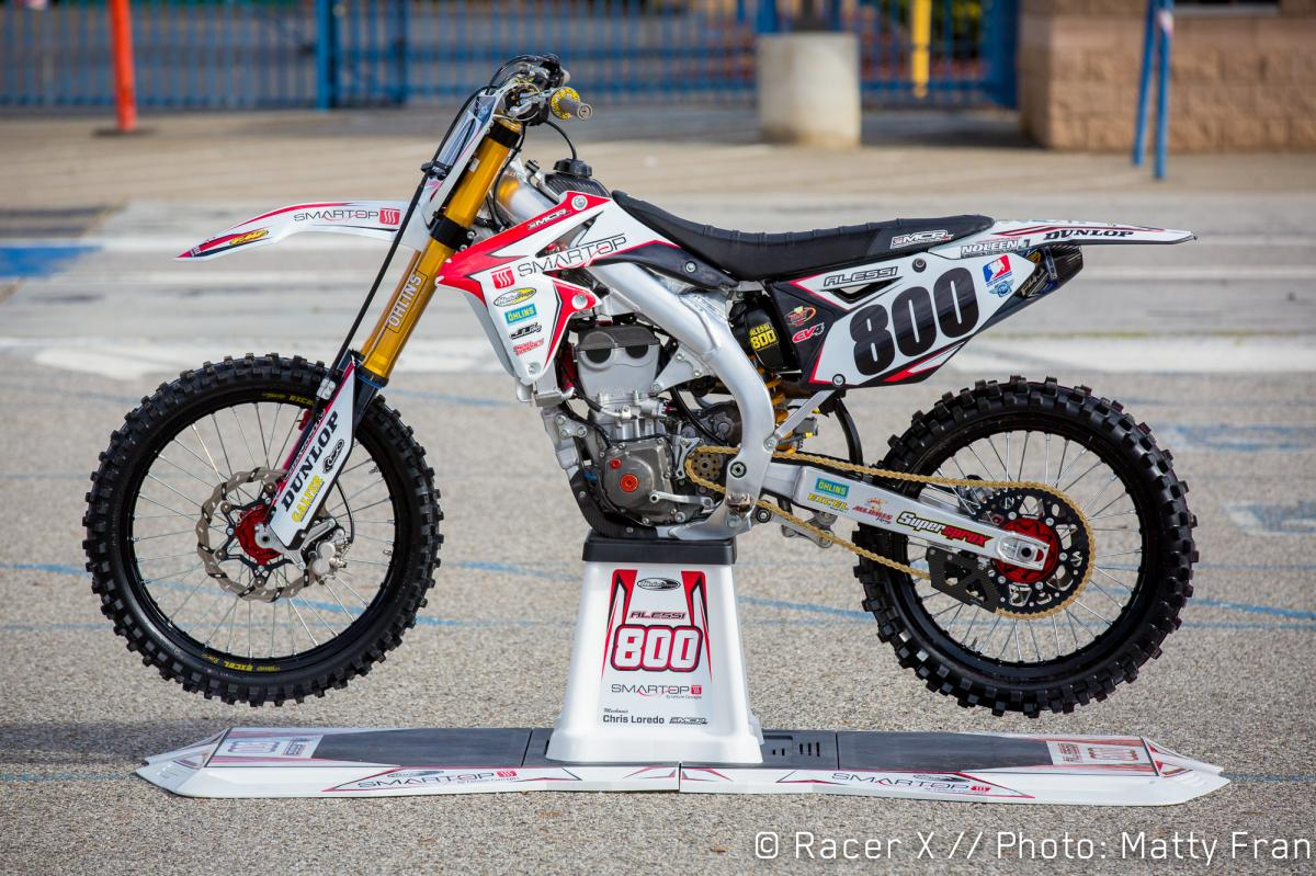 Mike Alessi's MCR 450