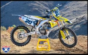 Broc Tickle's RCH ride