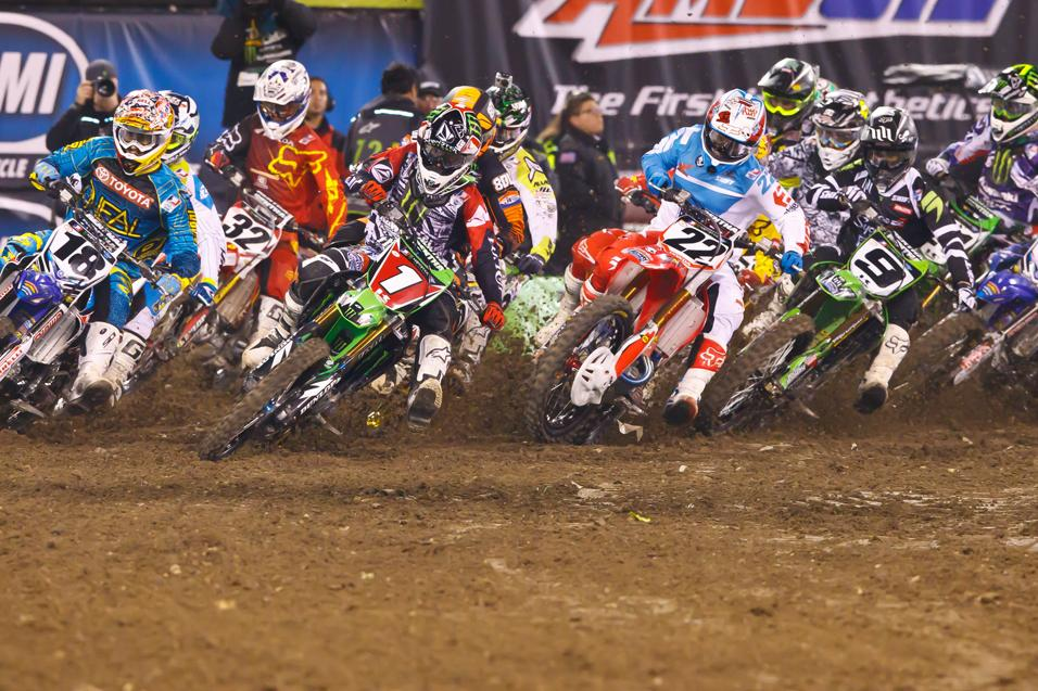 Who will win the  450SX class at Anaheim 1?