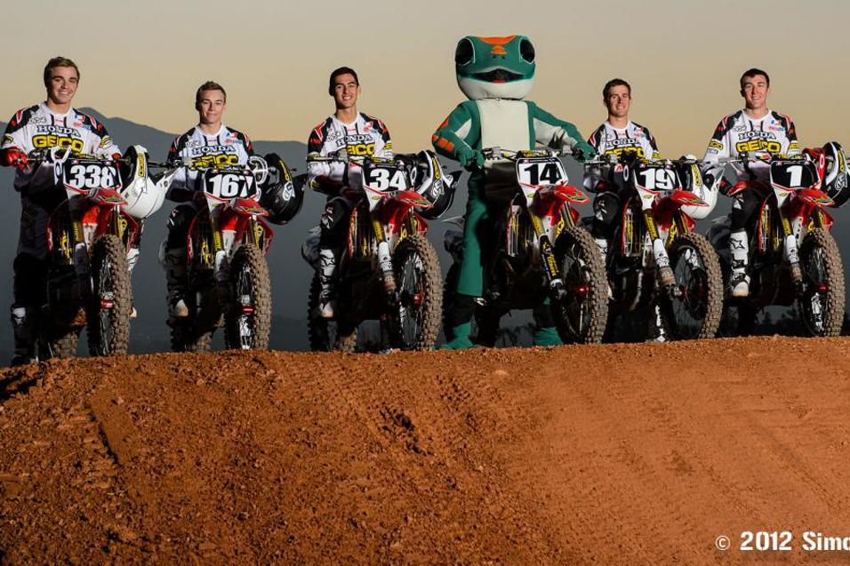 2013 Supercross Team Guide