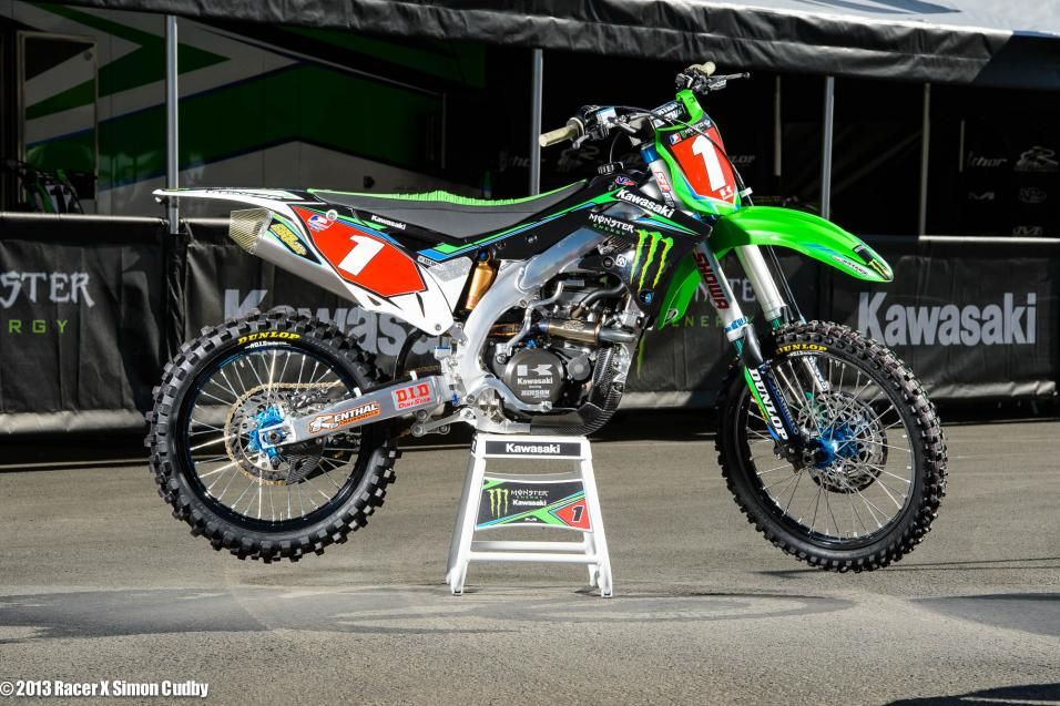 Anaheim SX Bike Pics