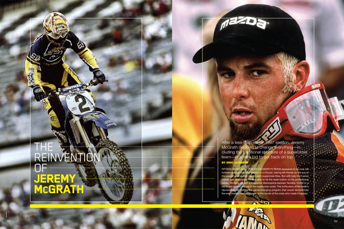 THE REINVENTION OF JEREMY McGRATH