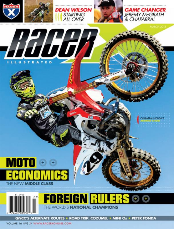 The March 2013 Issue - Racer X Illustrated Supercross Magazine