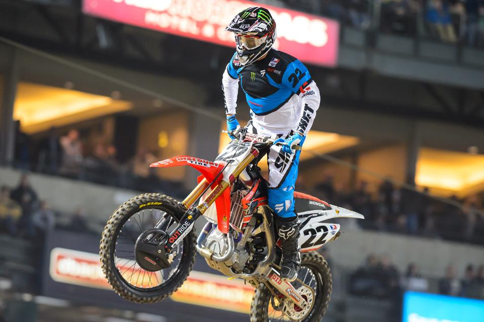 Biggest surprise in 450SX through two rounds?