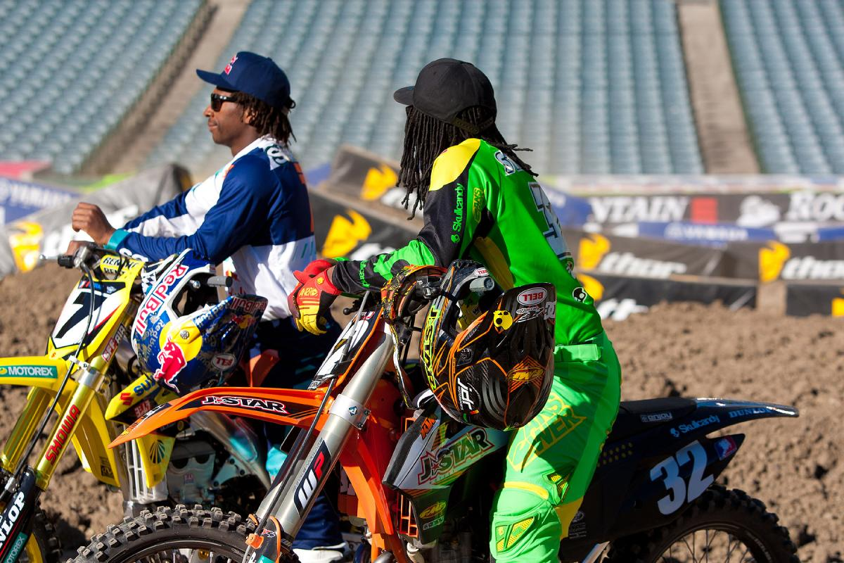 James and Malcolm Stewart