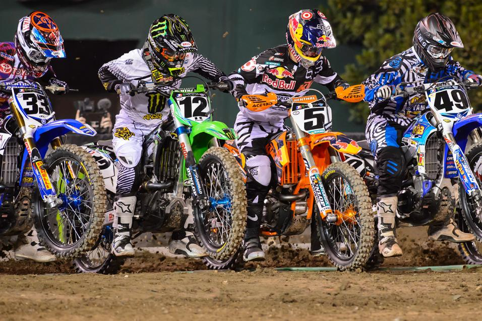 Who will be next rider  to win in 450SX?