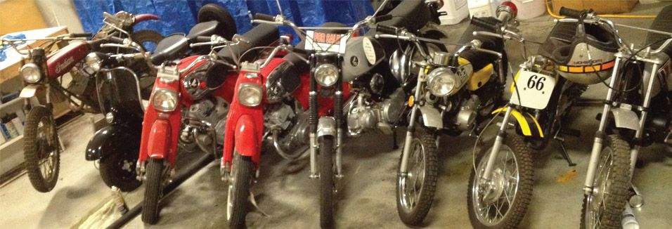 <strong>Your Collection:</strong> Mini Trail Bikes