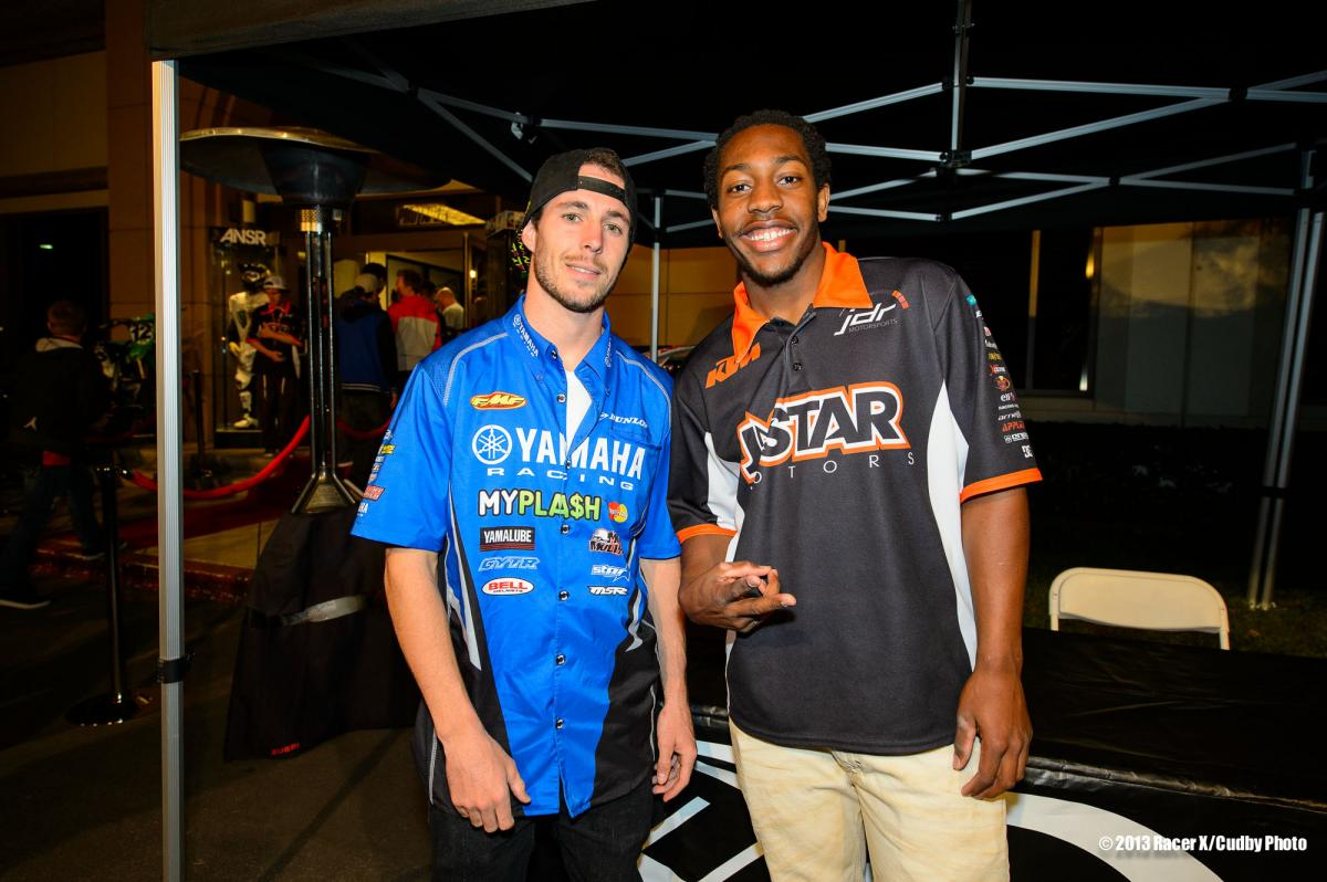 Kyle Cunningham and Malcolm Stewart