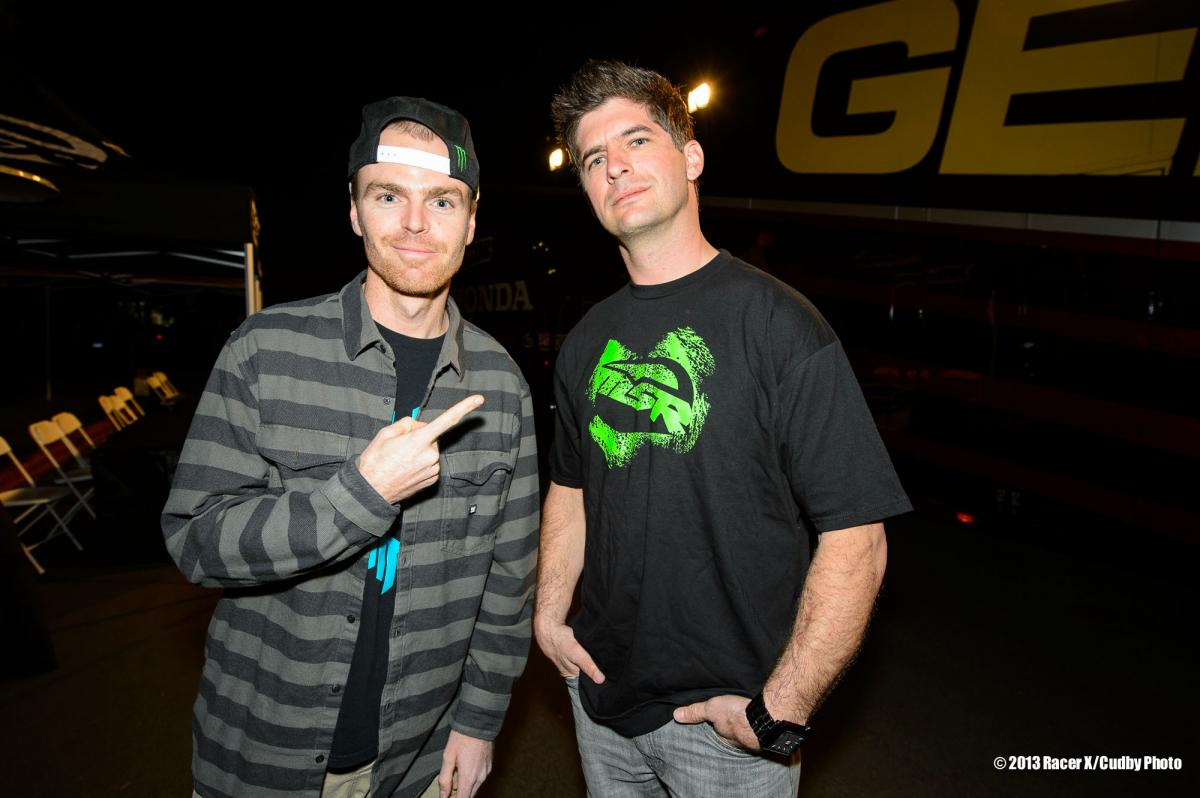 Nate Adams and Kevin Windham