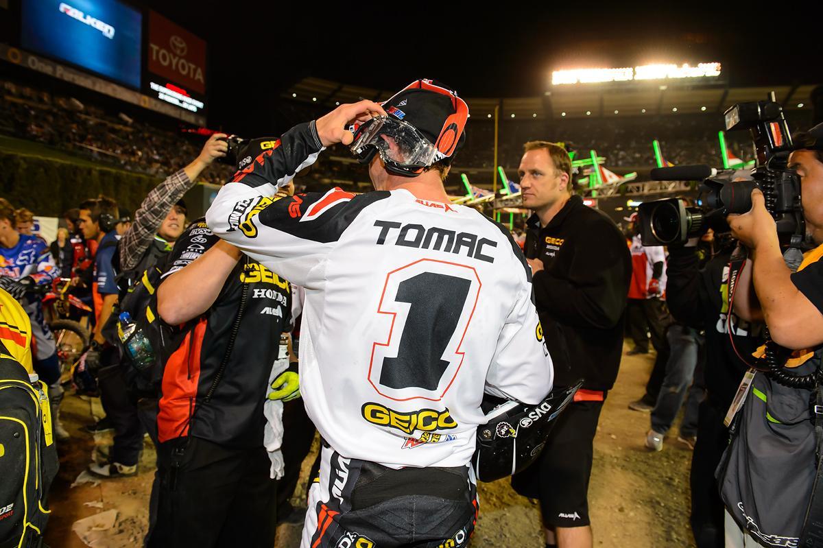 Eli Tomac // Anaheim 2