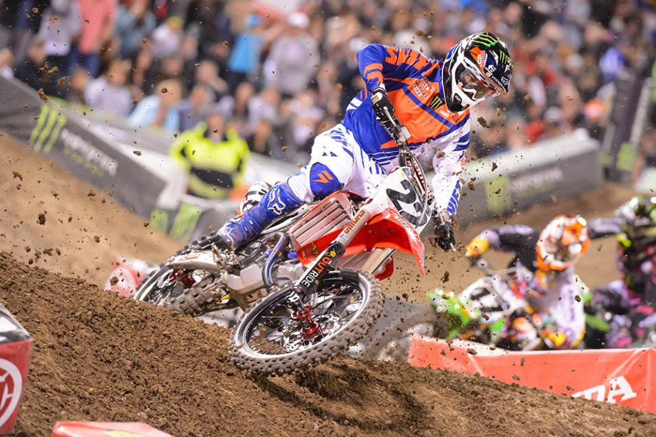 <strong>Going for the W:</strong> Chad Reed