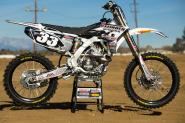 Racer X Tested:  2013 Yamaha YZF270cc