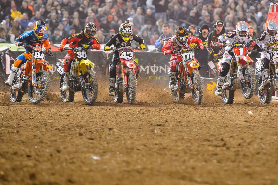 Who has been the most impressive 250SX rider in 2013?