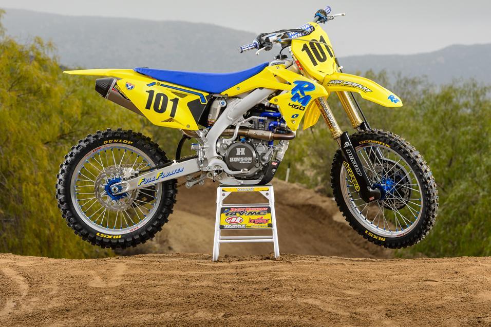 racer x tested 2013 suzuki rmz450 racer x online rh racerxonline com 2014 RMZ 450 Graphics RM 450