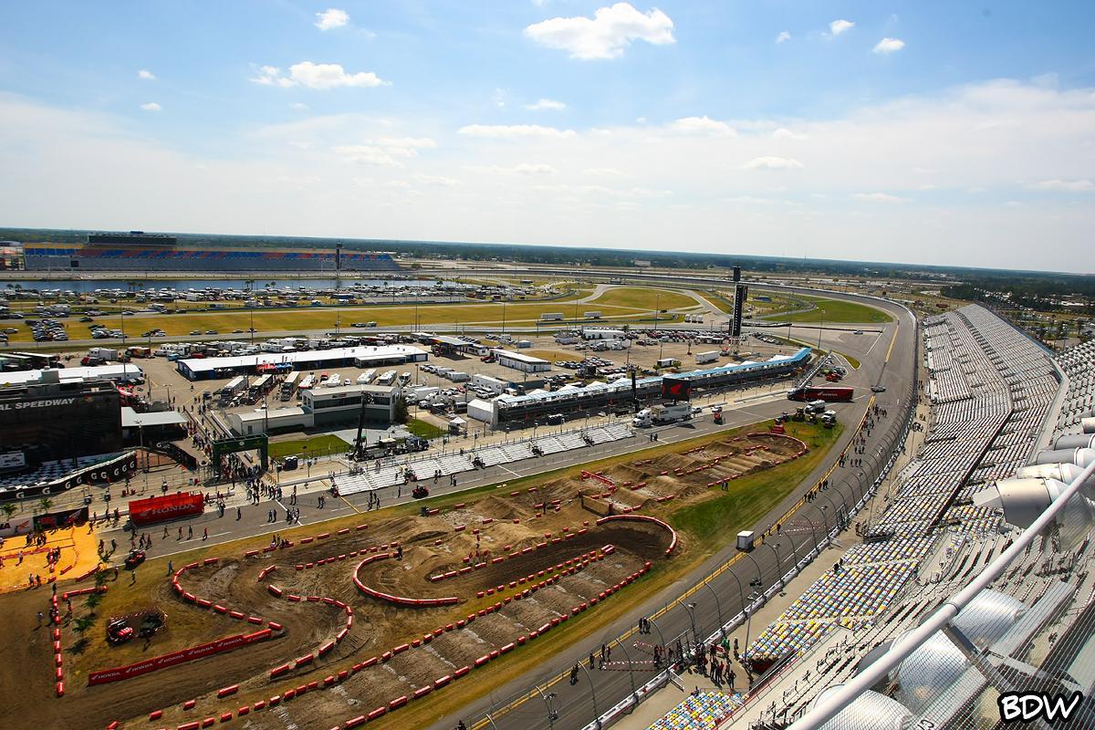 A Different View: Daytona