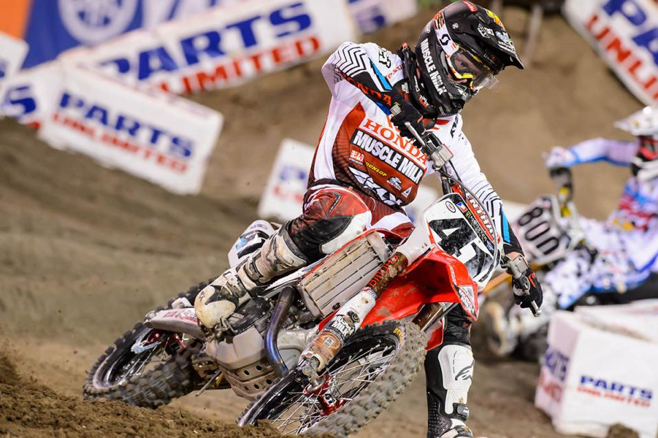Going for the W:  Trey Canard